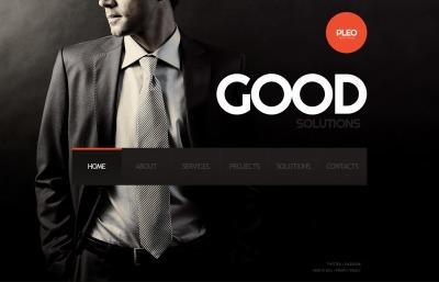 Consulting Web Sitesi Şablonu