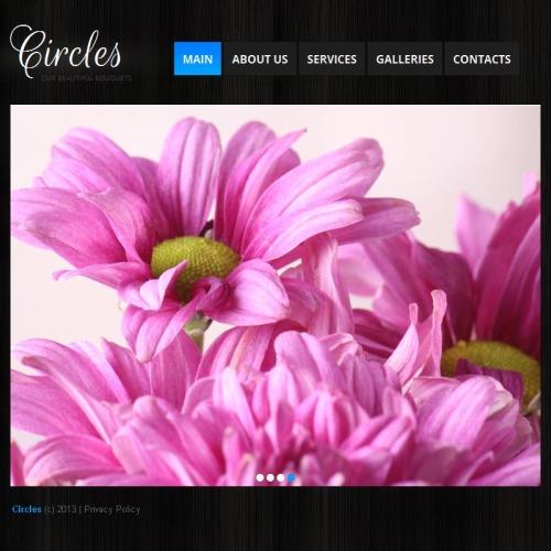 Circles - Facebook HTML CMS Template