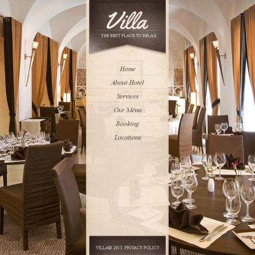 Villa - Facebook HTML CMS Template