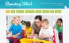 Modèle Moto CMS HTML  pour site d'école primaire New Screenshots BIG
