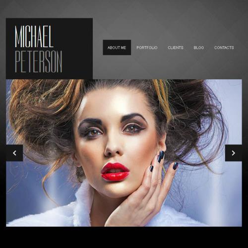 Michael Peterson - Facebook HTML CMS Template