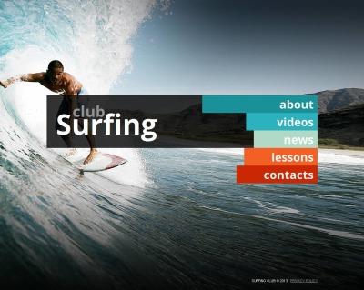 Plantilla Moto CMS HTML #43522 para Sitio de  para Sitio de Surf