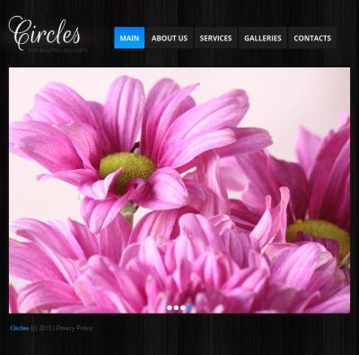 Flowers Facebook HTML CMS Şablon