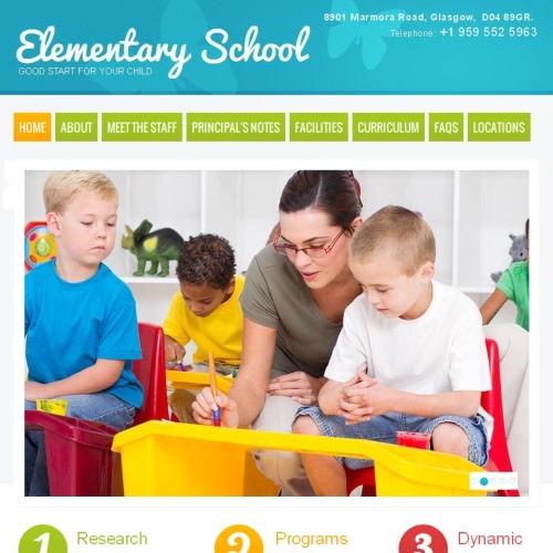 Elementary School - Facebook HTML CMS Template