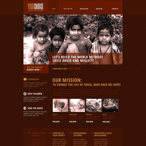 Your Choice - HTML5 Drupal Template