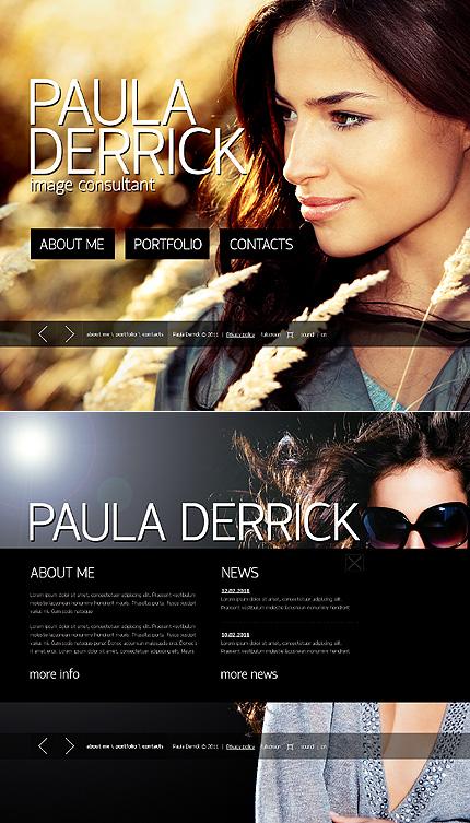ADOBE Photoshop Template 43603 Home Page Screenshot