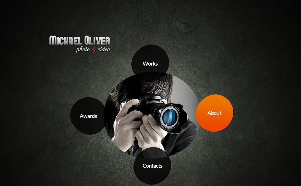 Modello Flash CMS  #43604 per Un Sito di Fotografi Portfolio New Screenshots BIG