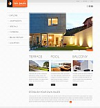 Real Estate Flash CMS  Template 43605