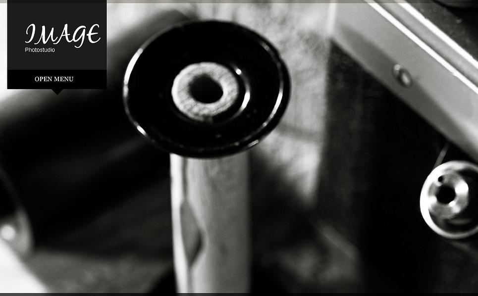 Шаблон фото галереи №43608 на тему  портфолио фотографа New Screenshots BIG