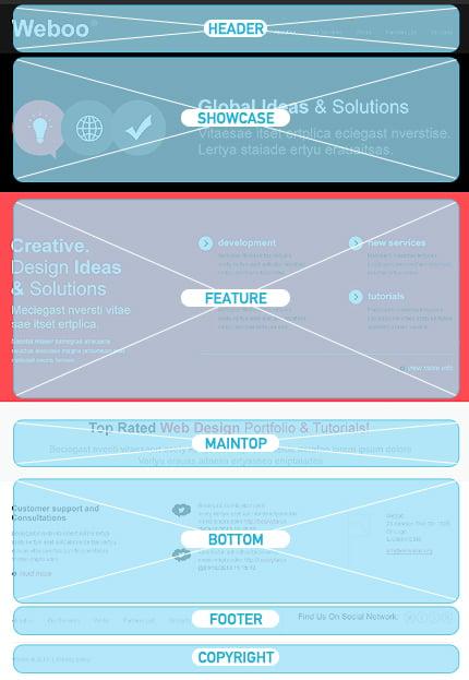 Joomla Theme/Template 43614 Main Page Screenshot