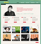 Web design Joomla  Template 43615