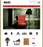 Furniture VirtueMart  Template 43622