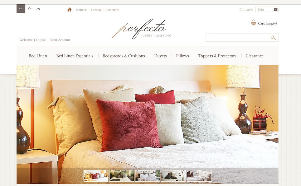 PrestaShop Thema over Woning Decoratie New Screenshots BIG