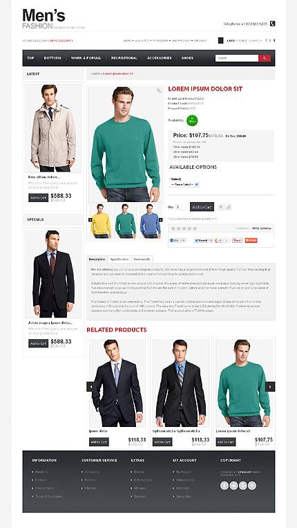 ADOBE Photoshop Template 43627 Home Page Screenshot