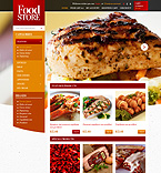 Food & Drink OpenCart  Template 43629