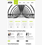 Architecture Website  Template 43638