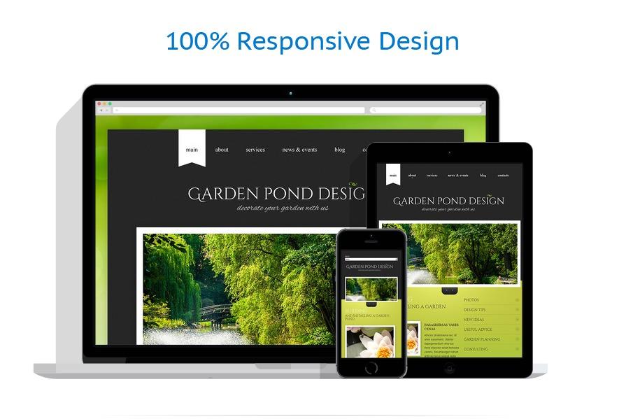 Exterior design website template 43644 for Exterior design templates