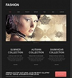 Fashion Moto CMS HTML  Template 43650