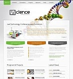 Science Moto CMS HTML  Template 43657