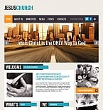Religious Moto CMS HTML  Template 43659