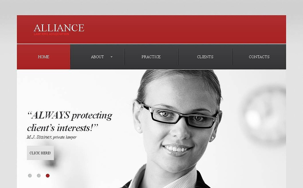 MotoCMS HTML шаблон на тему юридична фірма New Screenshots BIG
