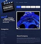 Media Facebook HTML CMS  Template 43671
