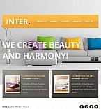 Furniture Facebook HTML CMS  Template 43676