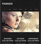 Fashion Facebook HTML CMS  Template 43677