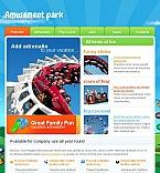 Entertainment Facebook HTML CMS  Template 43683