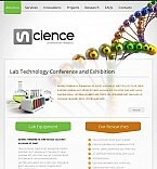 Science Facebook HTML CMS  Template 43684
