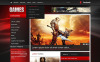 Hemsidemall för Spel New Screenshots BIG