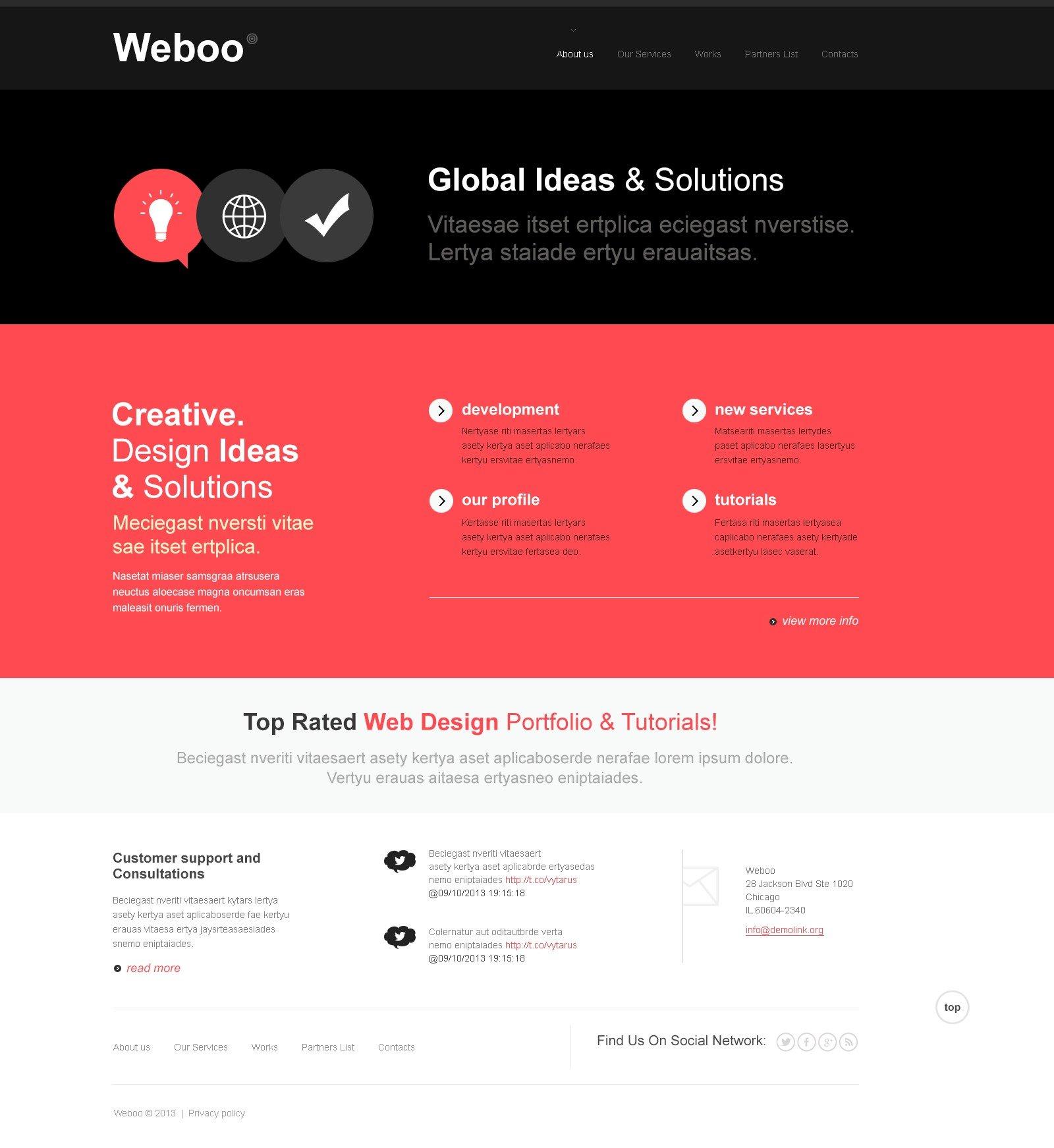 Bootstrap Design Studio Joomla Template - screenshot