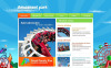 MotoCMS HTML шаблон №43656 на тему парк развлечений New Screenshots BIG