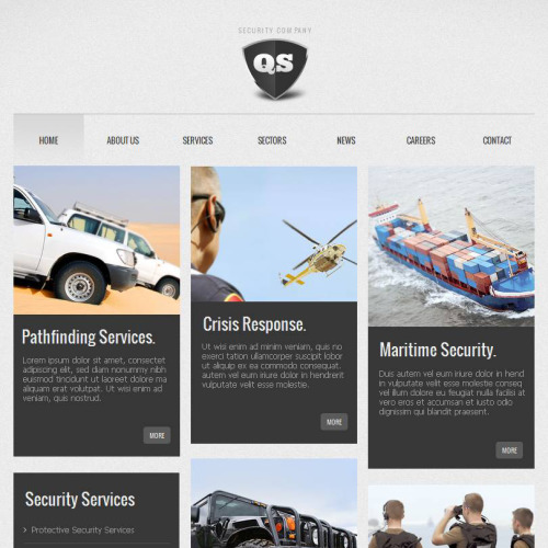 QS - Facebook HTML CMS Template
