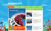 Tema Moto CMS HTML  #43656 per Un Sito di Parco Divertimento New Screenshots BIG