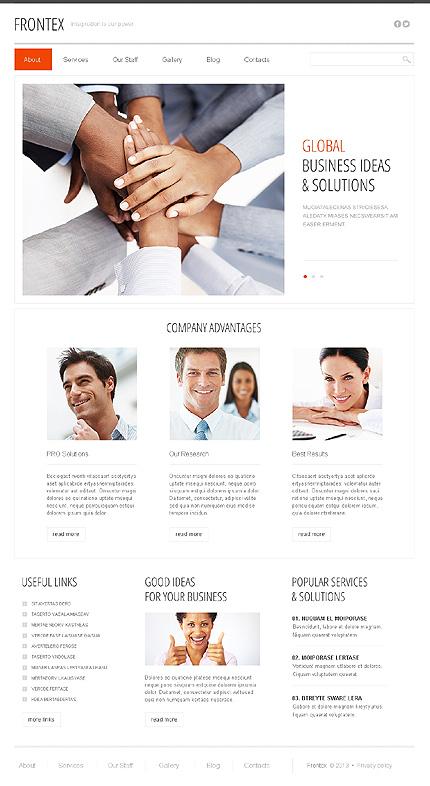 Drupal Template 43708 Main Page Screenshot