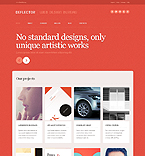 Web design WordPress Template 43712