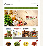 Food & Drink PrestaShop Template 43717
