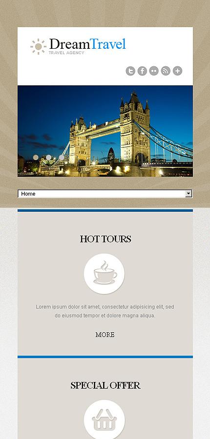 Joomla Theme/Template 43722 Main Page Screenshot