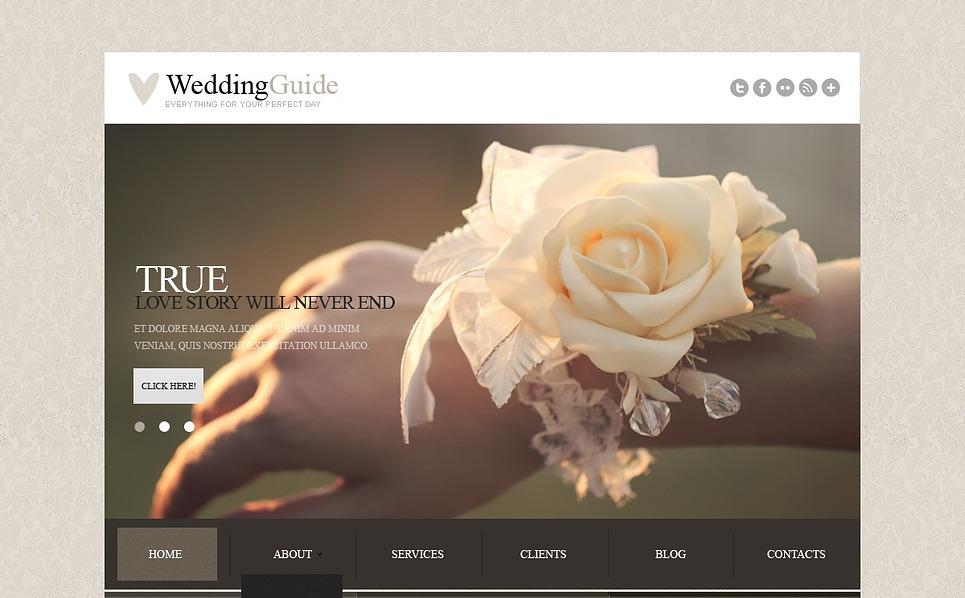 Responsive Joomla Template over Huwelijksplanner  New Screenshots BIG