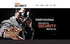 Security Website  Template 43738