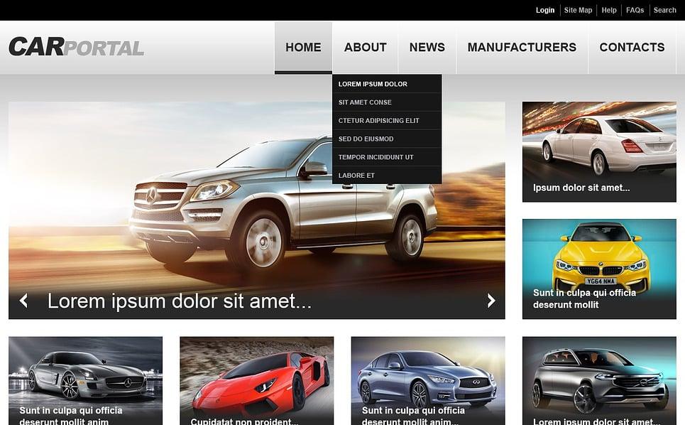Responsive Website template over Wasstraat  New Screenshots BIG