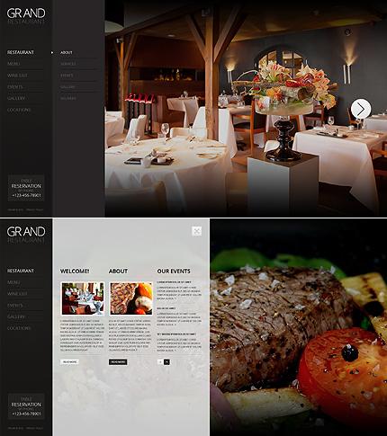 ADOBE Photoshop Template 43744 Home Page Screenshot