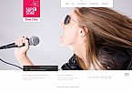 Music Flash CMS  Template 43746