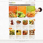 Food & Drink ZenCart  Template 43748