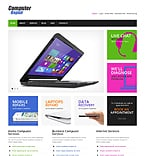Computers WordPress Template 43749