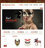 Halloween VirtueMart  Template 43755