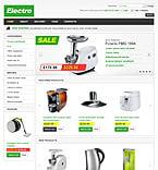 Electronics VirtueMart  Template 43756
