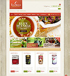 Food & Drink OpenCart  Template 43760