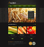 Agriculture Website  Template 43766
